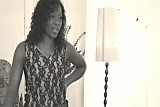 Ebony Star Miss Platinum in My Little Minx