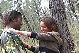 Shaina Arab fucked in forest