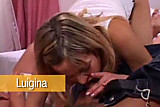 Luigina Niki get her face glazed