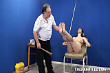 Feet whipping bondage and foot fetish of amateur bdsm