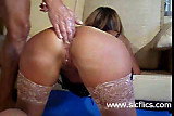 Double anal fist fucked submissive housewife