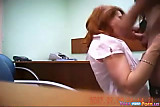 Horny Secretary Fucks On The Job view on tnaflix.com tube online.