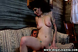Angel Joanna filled up by horny studs hard dick