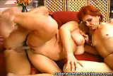 Two Grannies Fucking A Stud