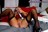 Hot Sexy Multiple Toy Masturbation