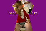 German blonde anal lessons