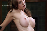 Heather Vandeven riding like a cowgirl
